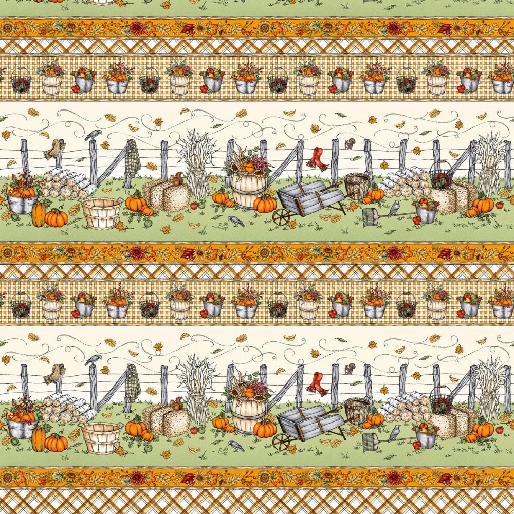 Sweater Weather | Stripe - Orange | Maywood Studio