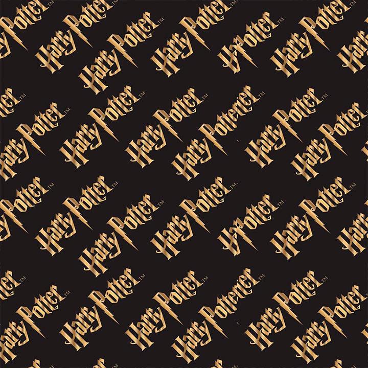 Harry Potter | Logo Gold in Black