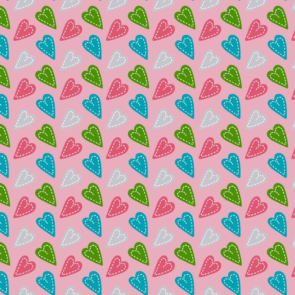 Anjos Patch :: Coração Patch Rosa | Fabricart