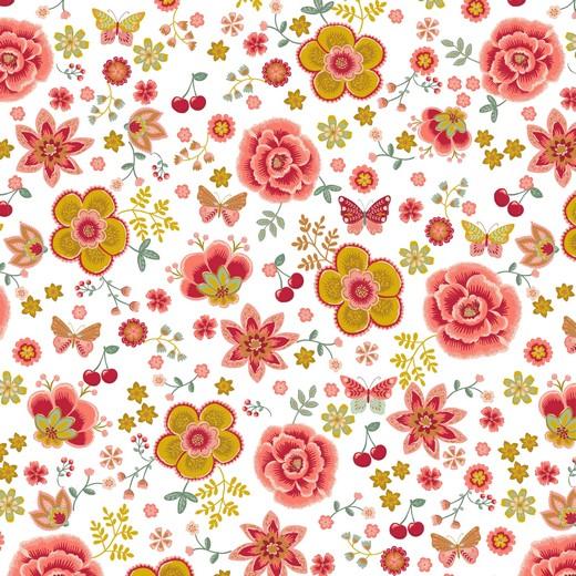 HAPPY FLOWERS | BRANCO | POPPY