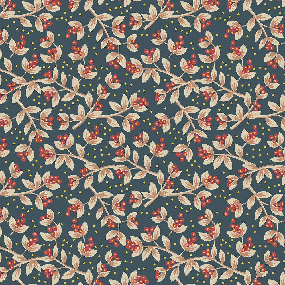 Floral Jacobean | Sementes Jacobean :: Petróleo Vermelho | Fabricart