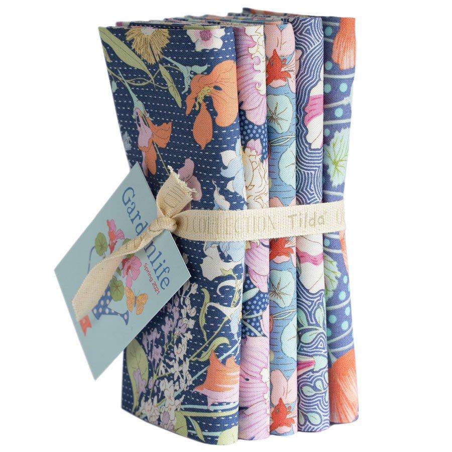 Gardenlife :: Bundle 5 FQ | Blue | Tilda