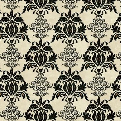 Le Poulet | Damask - Cream | Studio e Fabrics