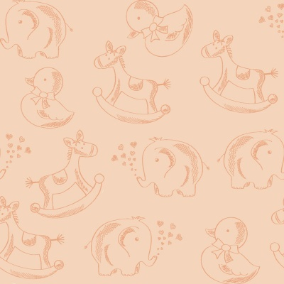 Basics Baby Colors :: Salmão | Fabricart