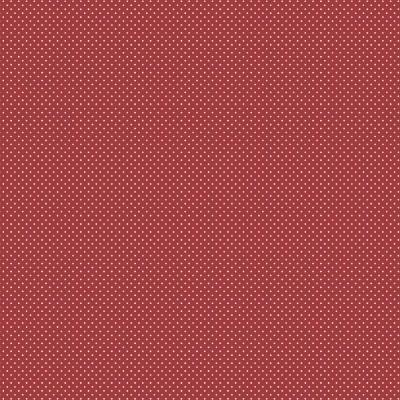 Micro Poá :: Vermelho | Fabricart
