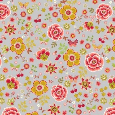 HAPPY FLOWERS | CINZA | POPPY