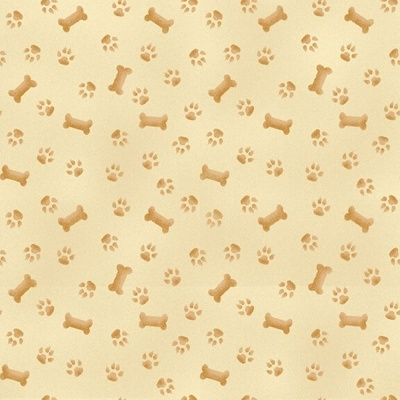 Paw and Bone | Tonal :: Pups in the Garden | Henry Glass