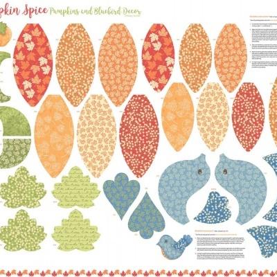 Pumpkin Spice | Craft Panel - Multi | StudioE Fabrics