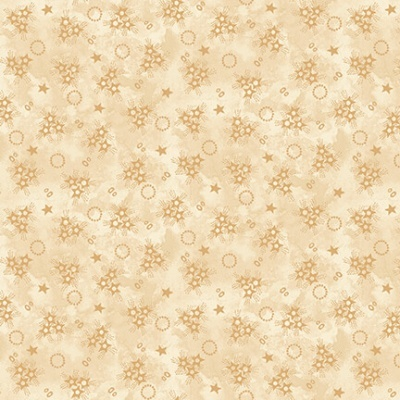 Abby's Treasures | Star Clusters | Ivory | Blank Quilting