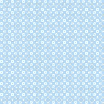 Cerca de Flores Azul Bebé | Basics Baby | Fabricart