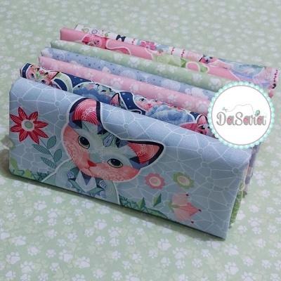 Fancy Cats | Bundle 5FQ +2P | StudioE Fabrics