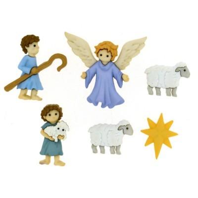 CONJUNTO DE BOTÕES | THE GOOD SHEPHERD