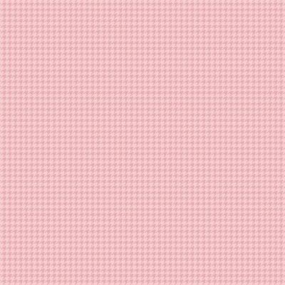 PIED DE POULE :: ROSÉ | FABRICART