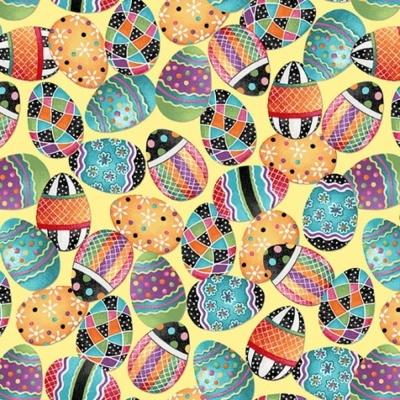Easter Fun | Easter Egg Toss - Yellow | Henry Glass