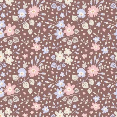 TILDA :: PLUM GARDEN | FLOWER CONFETTI | NUTMEG