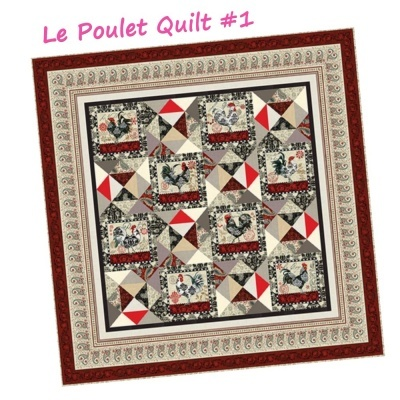 Le Poulet | Paisley - Red | Studio e Fabrics
