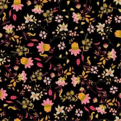 LOVELY FLOWERS | PRETO | POPPY