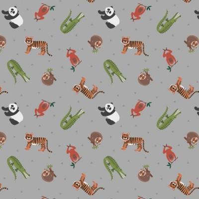 ASIAN ANIMALS :: GREY   SMALL THINGS...WORLD ANIMALS   L&I