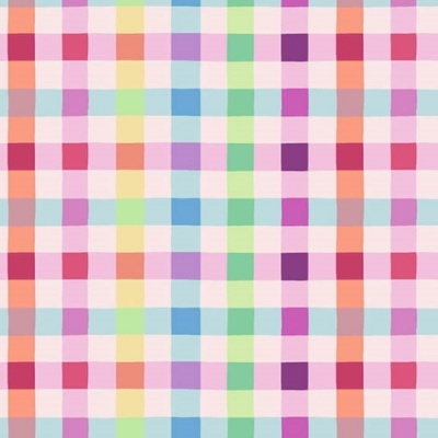 Easter Fun | Easter Pastel Plaid - Pink/Multi | Henry Glass