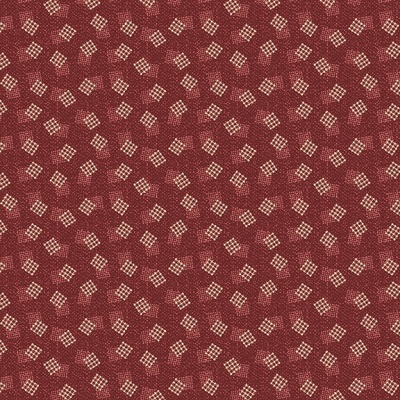 Abby's Treasures | Squares | Red | Blank Quilting
