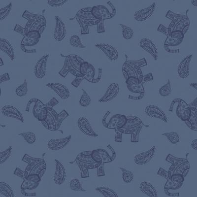 PAISLEY ELEPHANT | BLUE :: SORAYA | LEWIS and IRENE