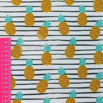 Plastificado Fruity Summer | Ananases | Wish Fabrics