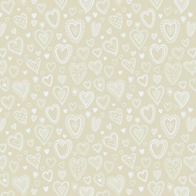 Multi Corações | Creme | Basics & Colors | Fabricart