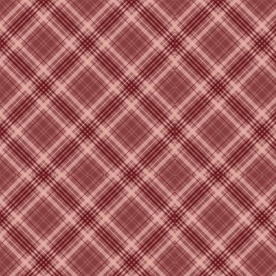 RED PLAID :: RED BLOSSOM | DIGITAL | FABRICART