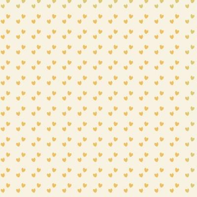 Mini Corações | Amarelo | Basics & Colors | Fabricart