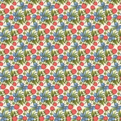 Pumpkin Spice | Tossed Berries - Multi | StudioE Fabrics