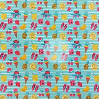 Plastificado | Fruity Summer | It´s Summer Time | Wish Fabrics