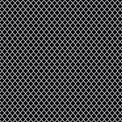 Mini Vitral | Preto | Basics & Colors | Fabricart