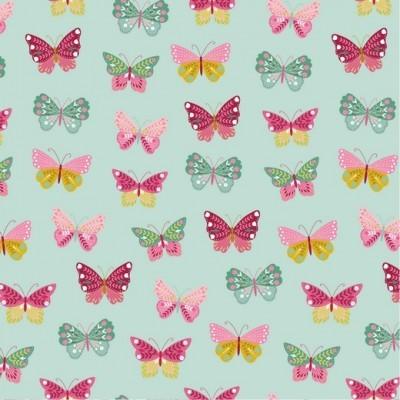 BUTTERFLIES LOVE FLOWERS   MENTA   POPPY