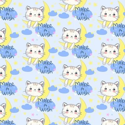 Make a Wish :: Cat Lovers | Fabricart