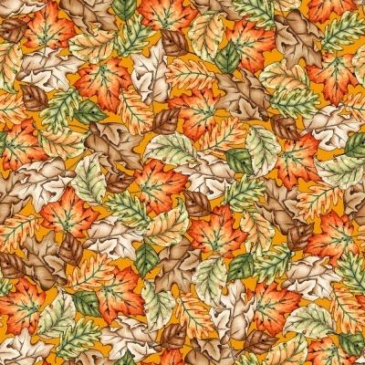Sweater Weather | Leaves - Orange | Maywood Studio