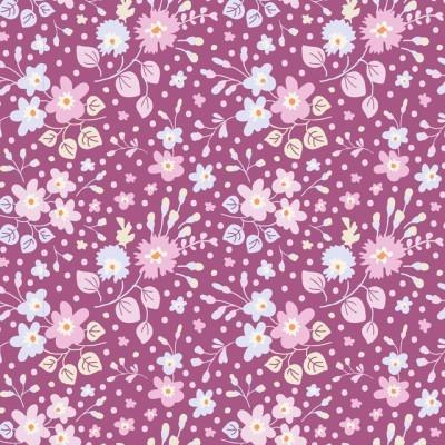 TILDA :: PLUM GARDEN | FLOWER CONFETTI | PLUM