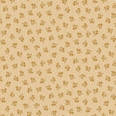 Abby's Treasures | Mini Floral | Ivory | Blank Quilting