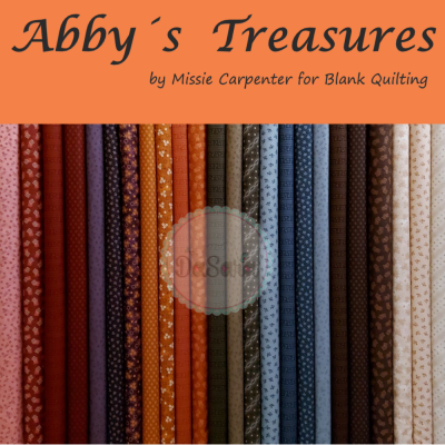 Abby's Treasures   Bundle 24 FQ   Full Collection   Blank Quilting