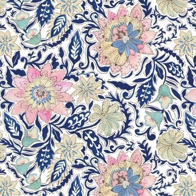 Ganesha Garden | Lotus - Blue | Free Spirit