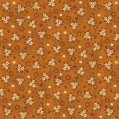 Abby's Treasures | Star Clusters | Glod | Blank Quilting