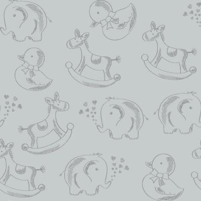 Basics Baby Colors :: Cinza | Fabricart