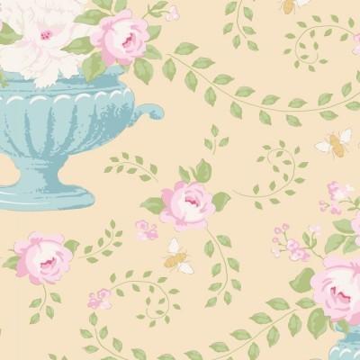 TILDA :: HAPPY CAMPERS   FLOWERBEES   EGGNOG