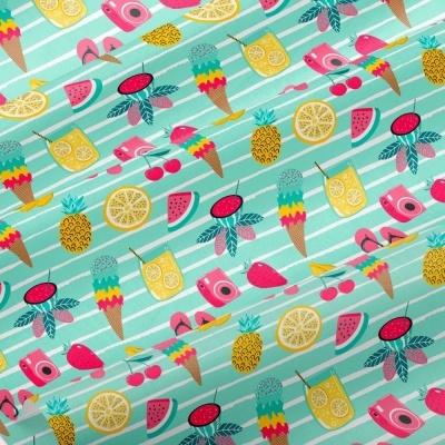 Fruity Summer   It´s Summer Time   Wish Fabrics
