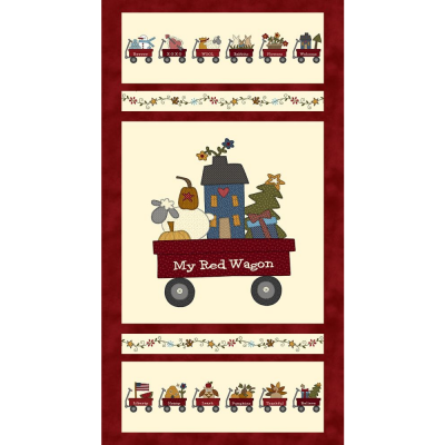 My Red Wagon | Banner Panel | Henry Glass