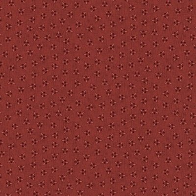 CLUSTERED TRIANGLES | RED :: BARN DANCE | BLANK QUILTING