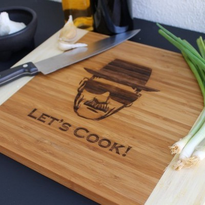 Let's Cook cutting board