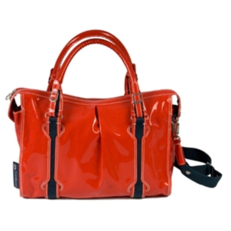 Saco Muda Fraldas Little Company Red Shopper Bag