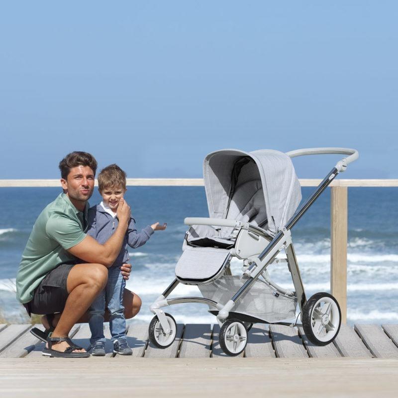 Carro bebé individual Bebecar Top+1 Baby Stroller