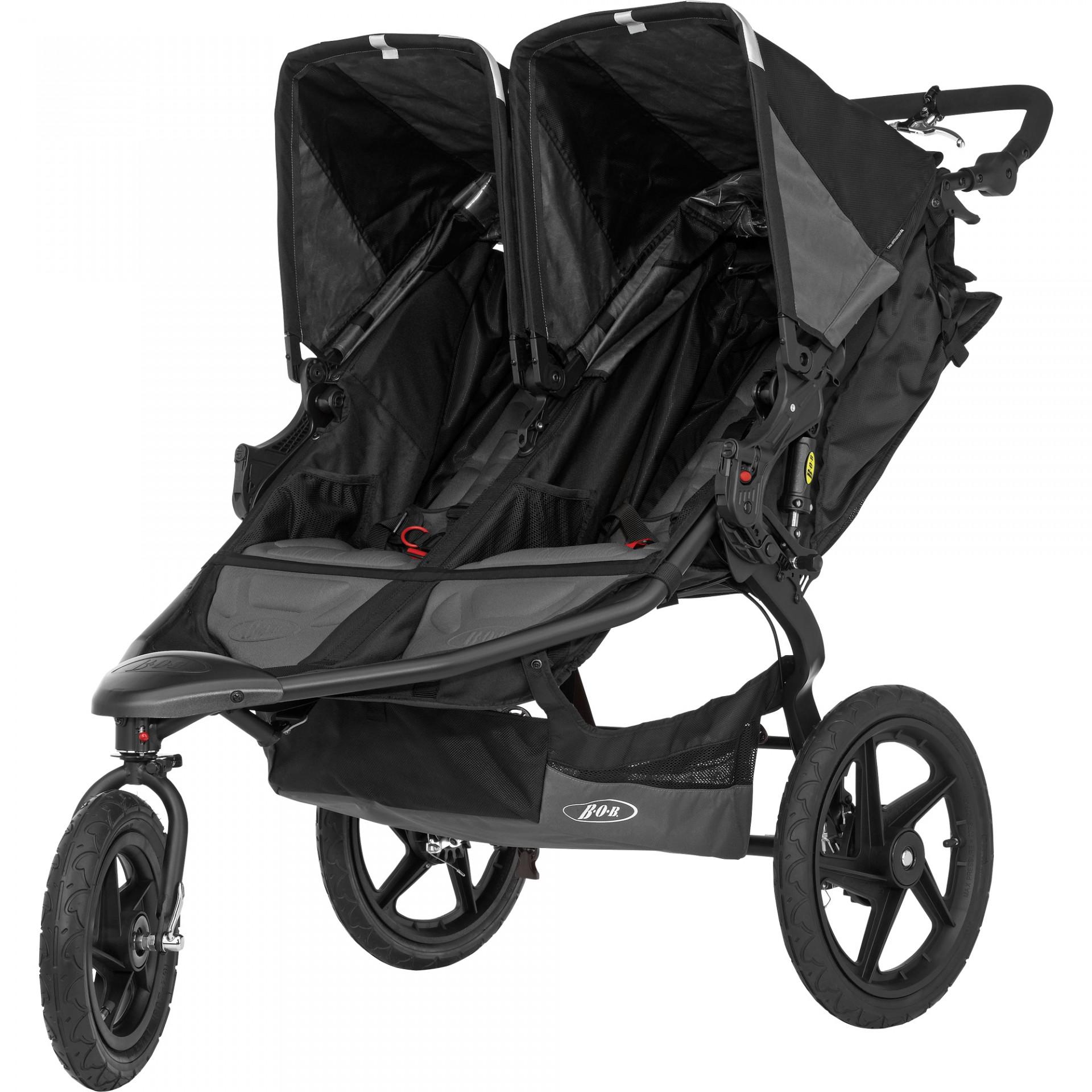 Carro Gémeos/2 crianças Britax Römer Bob Revolution Pro Duallie Twins Stroller