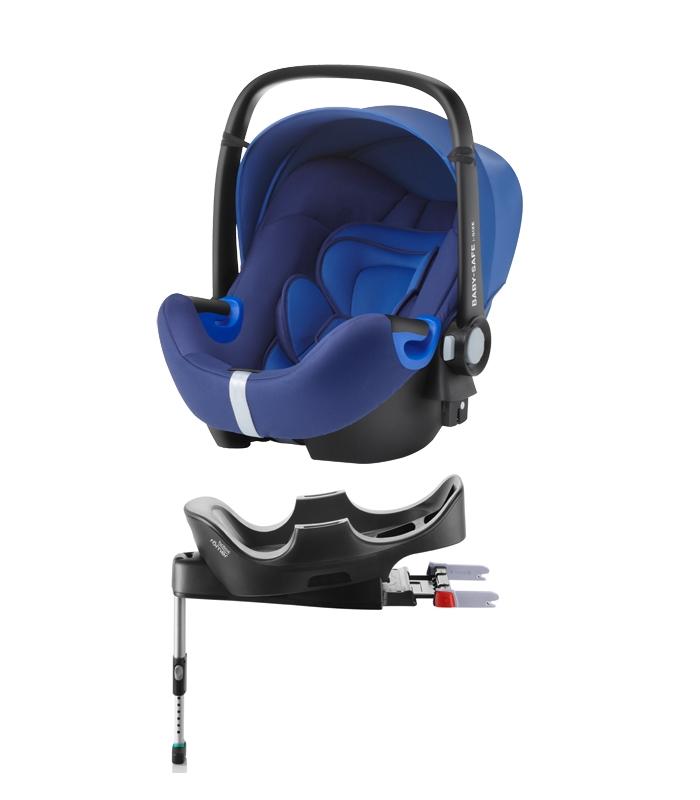 Pack cadeira auto e base flex Britax Römer Baby Safe2 i-Size Car Seat and Flex Base
